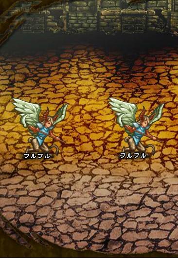 4回目。左分岐後さらに左へ分岐したメンバーのみ。 フルフル×2