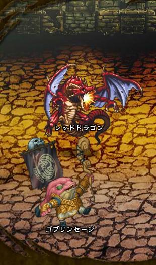 6回目。 レッドドラゴン【ウコムの試練】 ゴブリンセージ