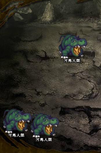 3回目。左へ分岐したメンバーのみ。 河馬人間×3
