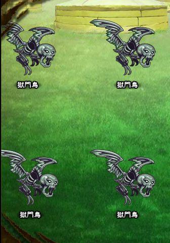 6回目。左分岐後さらに左へ分岐したメンバーのみ。 獄門鳥×4