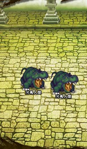 6回目。右分岐後さらに右へ分岐したメンバーのみ。 河馬人間×2