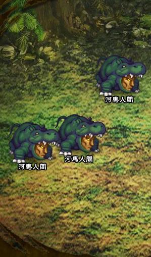 5回目。左分岐後さらに右へ分岐したメンバーのみ。 河馬人間×3  ※以降右に分岐したメンバーと合流