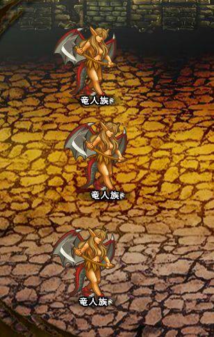 2回目。左へ分岐したメンバーのみ。 竜人族×3