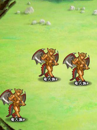 3回目。右へ分岐したメンバーのみ。 竜人族×3