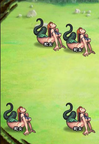6回目。左分岐後さらに左へ分岐したメンバーのみ。 蛇女×4