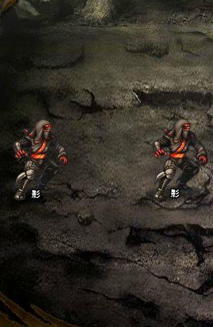 4回目。左へ分岐したメンバーのみ。 影×2